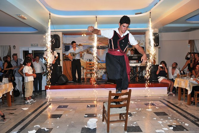 Traditional Greek Night live Music & Dinner Show in Santorini