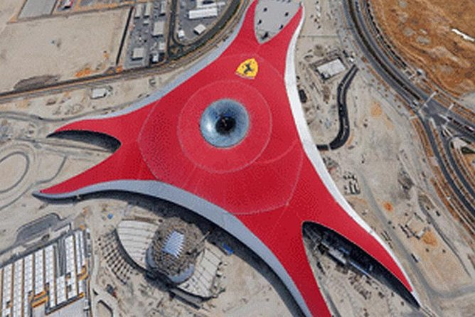 Abu Dhabi Ferrari World Entrance Ticket with Transfers from Dubai