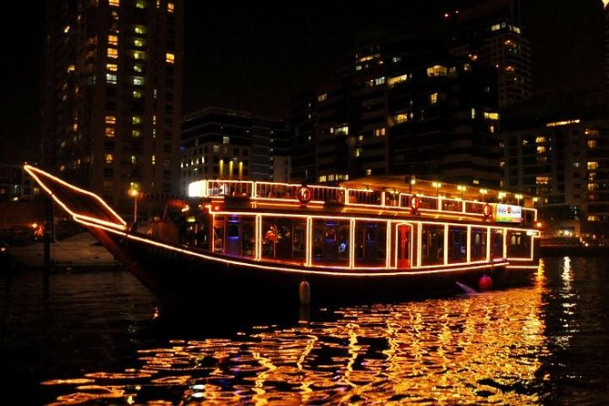 Dhow Cruise Dinner in Dubai Marina