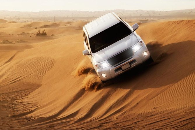 Desert Safari in 4X4 with BBQ Dinner and Belly Dance