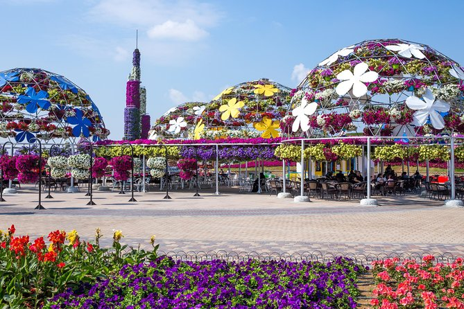 Miracle Garden met Hotel Pick Up en Drop Off in Dubai