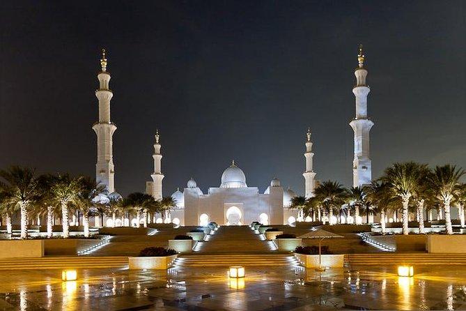 Excursion à Abou Dhabi Mosquée Sheikh Zayed Palais Des émirats Marina Mall