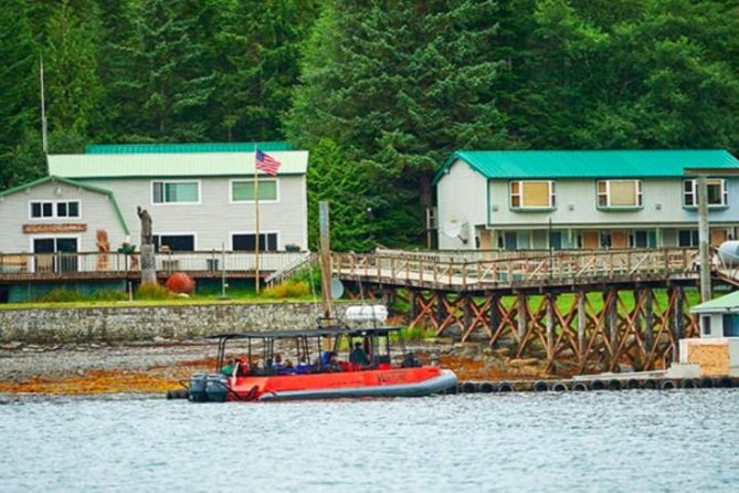 Ketchikan Shore Excursion: Silverking Lodge Adventure & Seafeast