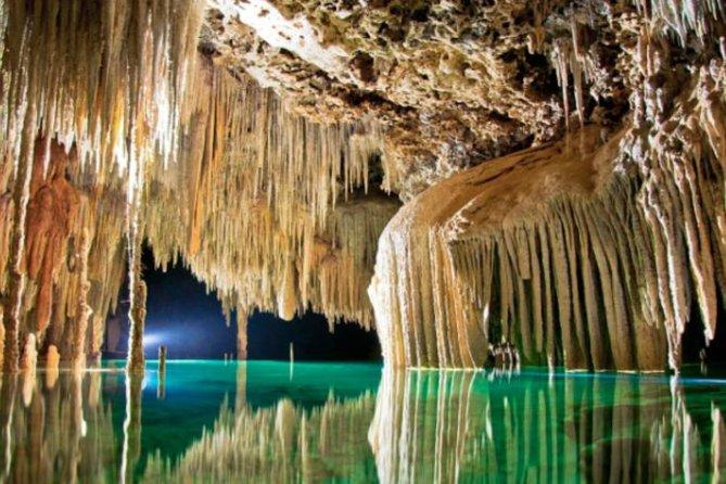 Excursion côtière de Cozumel: visite de la rivière souterraine et des grottes