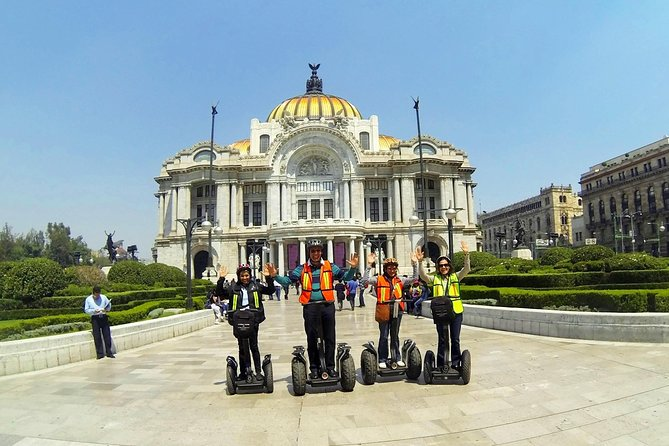 Shared 2 Hours Mexico City Segway Tour: Downtown Zocalo