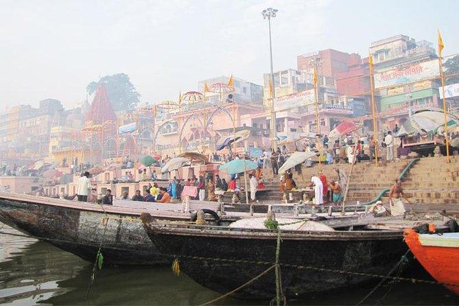 Excursão Espiritual Varanasi de Dia Inteiro com Sarnath e Ritos Noturnos