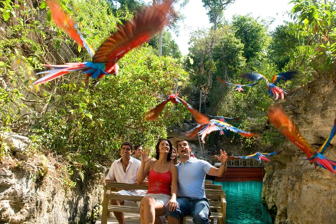 Private Tour Coba and Night Show in the Park Xcaret
