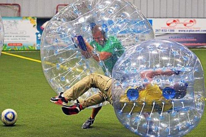 Bubbelfotboll med privat överföring