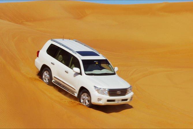 Dubai Morning Desert Adventure Red Dunes
