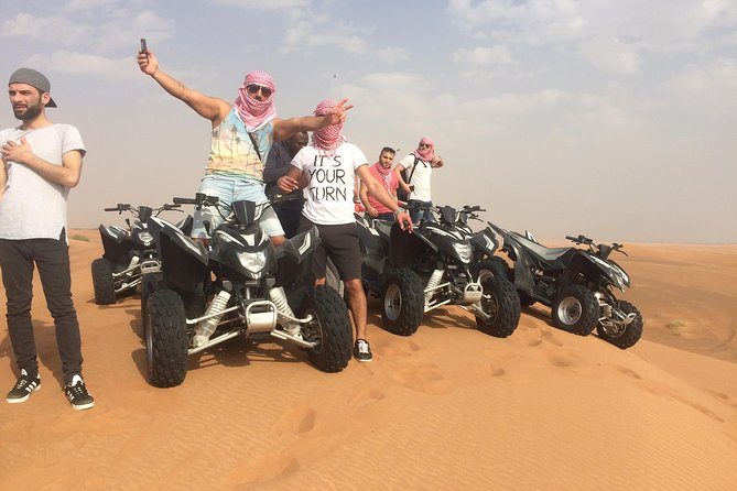 Dubai Morning Desert Adventure 60mins Quad Bike