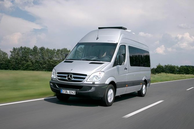 From Eindhoven Airport EIN, Business Van Private Arrival Transfer