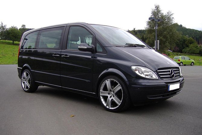 Tallinn TLL Airport Luxury Van Private Arrival Transfer