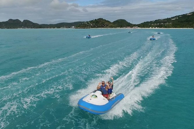 Antigua Reef Riders Self-Drive Boat and Snorkeling Tour