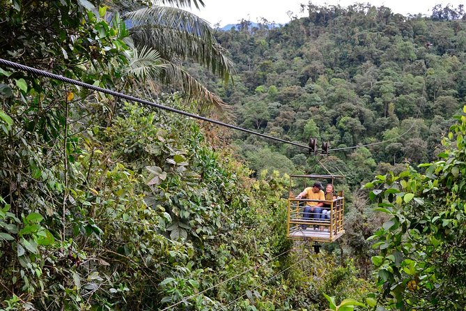 Skip the Line: Mindo's Cable Car and Waterfall Sanctuary Ticket