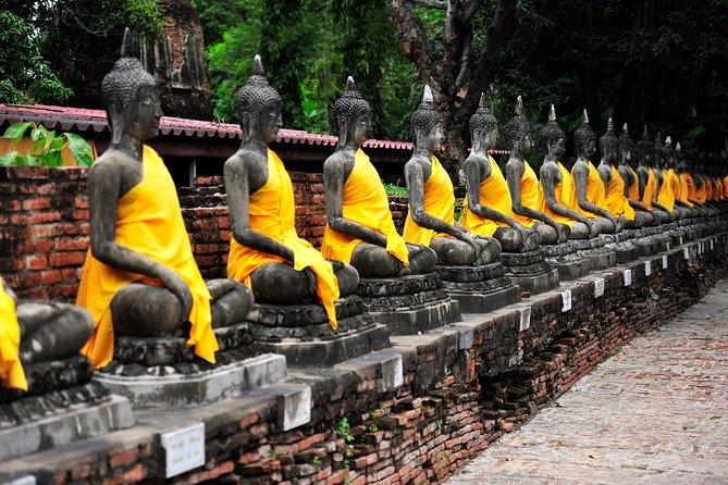 Excursión en autobús de un día a Ayutthaya desde Bangkok