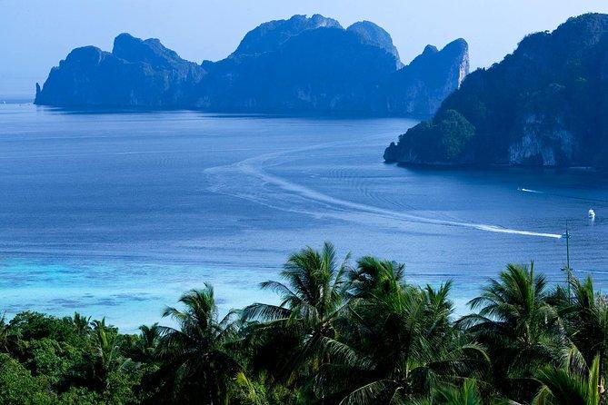 Excursion d'une journée en hors-bord aux îles Phi Phi avec déjeuner à Phuket
