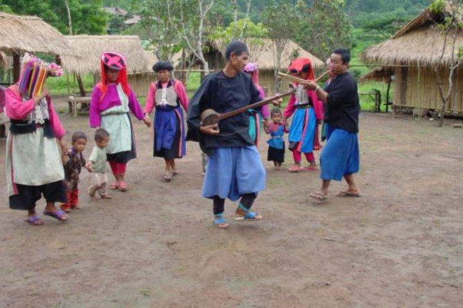 Full day Long Neck Hill Tribe Village & Boat Trip on Mae Kok from Chiangmai