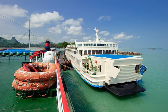 Bangkok to Koh Samui by Thai Sriram Coach and Big Ferry