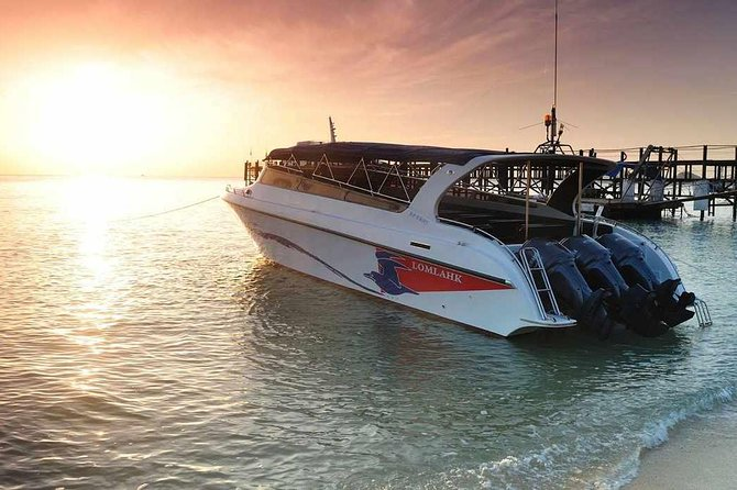 Round-Trip Transfer to Full Moon Party on Koh Phangan by Speed Boat