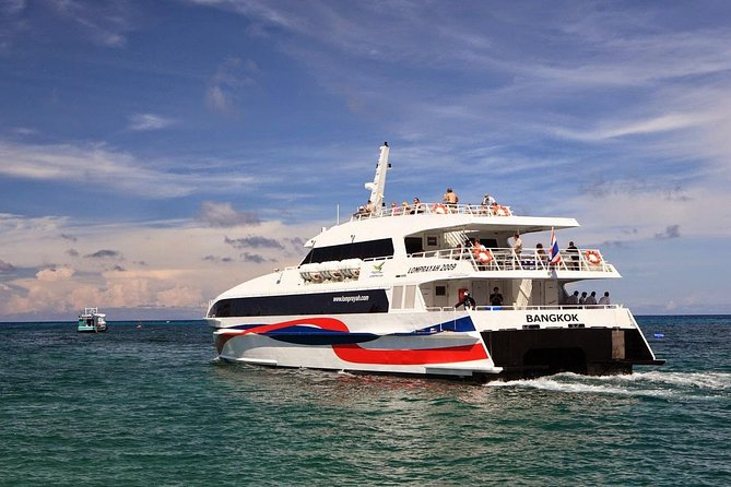 Koh Phi Phi to Koh Tao by Ferry, Lomprayah Coach and High Speed Catamaran