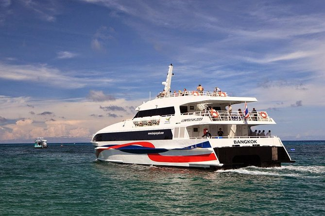 Koh Phi Phi to Koh Samui by Ferry, Lomprayah Coach and High Speed Catamaran