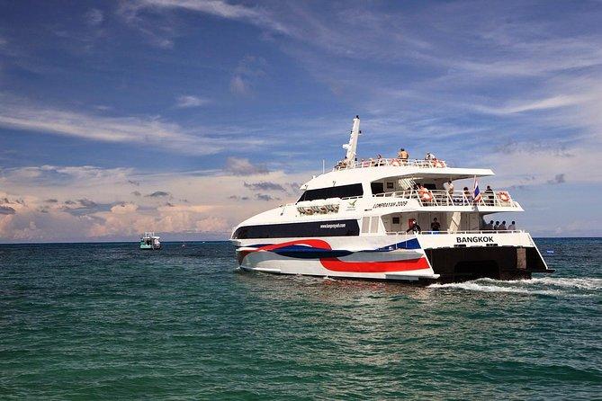 Surat Thani Tapee Pier to Koh Phangan by Lomprayah High Speed Catamaran