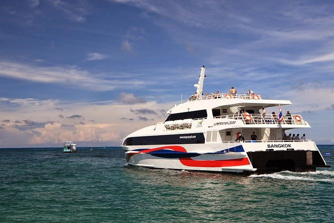 Phuket to Koh Samui Transfer by Coach and High Speed Catamaran