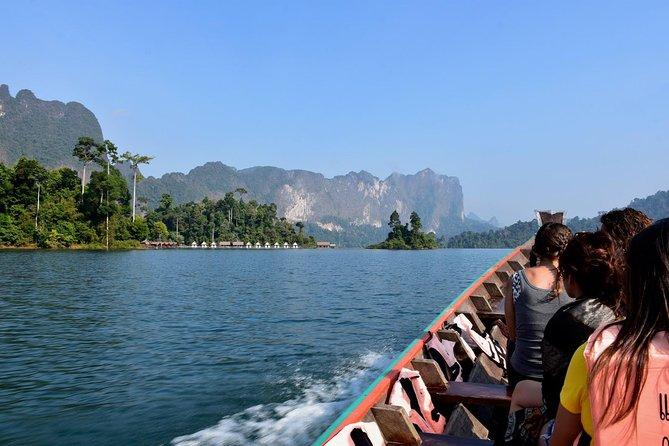 Full-Day Tour to Cheow Lan Lake in Khao Sok National Park from Krabi