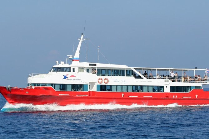 Surat Thani Airport to Koh Samui by Shared Minivan and Seatran Discovery Ferry