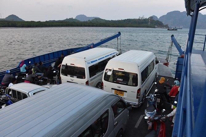 Ferry crossing to Krabi Mainland
