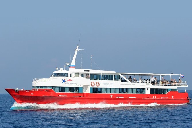 Koh Phangan to Surat Thani Airport by Seatran Discovery Ferry and Minivan