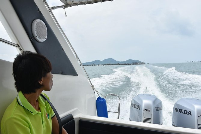 Phuket to Ao Nang by Green Planet Speed Boat via Koh Yao Islands