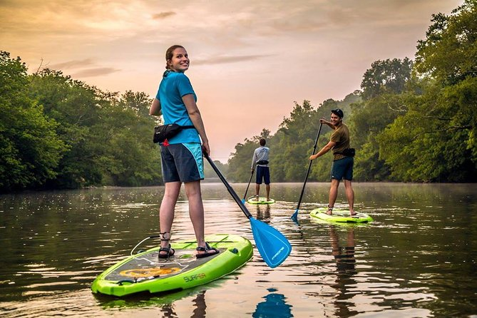 Guided Asheville Stand Up Paddle Tour