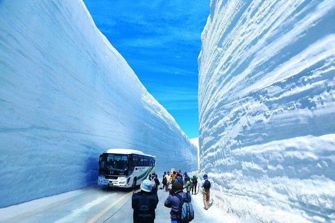 (Spring Only) 1-Day Snow Walls of Tateyama-Kurobe Alpine Route Tour