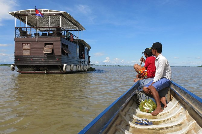 Siem Reap (Angkor Temples) to Phnom Penh cruise