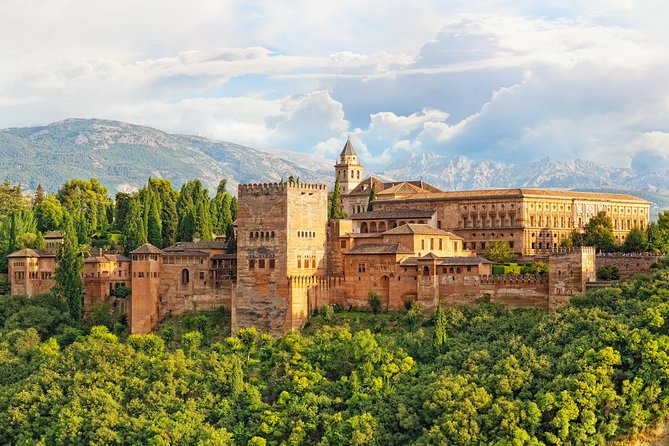 Alhambra of Granada (Skip-the-line) Full Day Trip from Seville