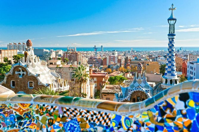 Visit the amazing Park Guell and enjoy great views of the city