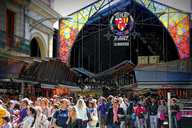 Boqueria and Santa Caterina Markets with Food and Tapas Private Walking Tour