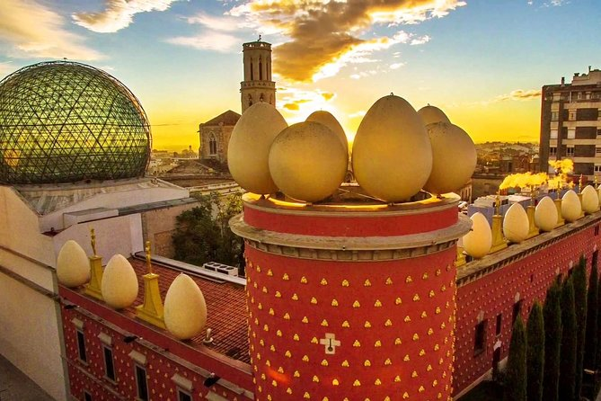 From Barcelona: Private Girona and Figueres with Dali Museum Tour