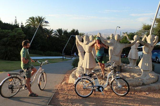バルセロナの自転車ガイド付きツアー