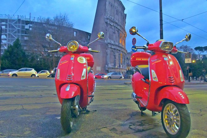 4 Hour Rome S Highlights By Vespa Scooter Private Tour