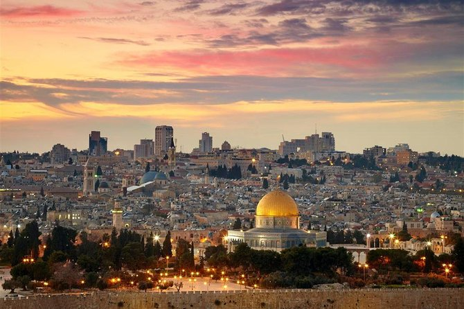 2-Day Israel and Jordan from Tel Aviv: Jerusalem, Bethlehem, Petra