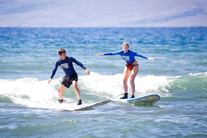 Private Surf Lesson for Two Near Lahaina