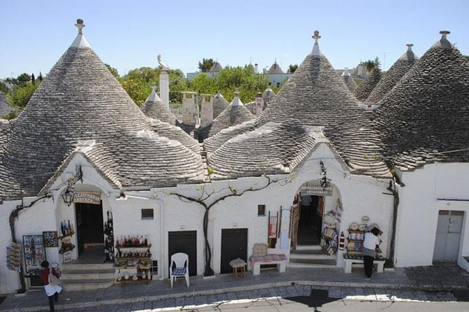 Private Tour: The Trulli of Alberobello from Naples