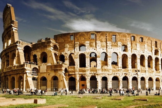 Classic Rome: Colosseum Roman Forum And Palatine Hill