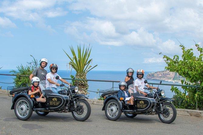 Madeira Scenic Tour av Sidecar och Jeep från Funchal (pris per 1 eller 2 pax)