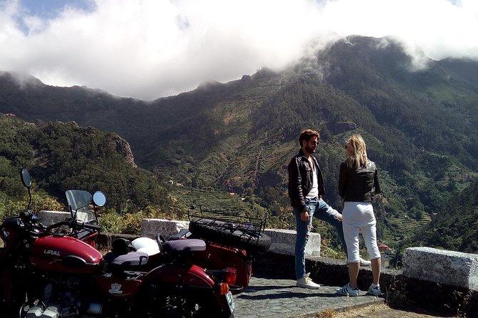 Madeira ö En dagstur (pris per sidvagn - 1 eller 2 passagerare)
