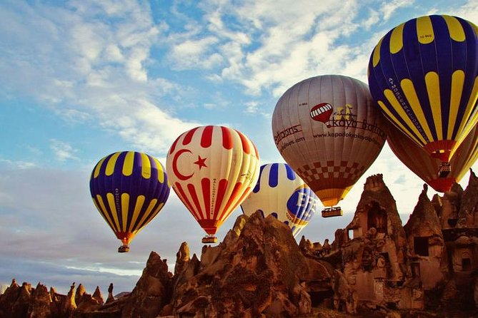 Cappadocia Balloon Tour with Champagne Breakfast Included