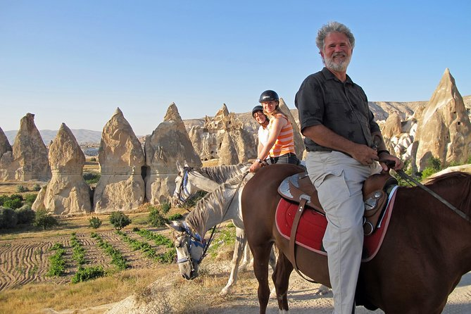 Private Full-Day Tour in Cappadocia With Horseback Riding