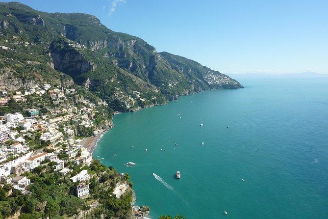 Excursão diurna em Sorrento, Positano e Amalfi partindo de Nápoles